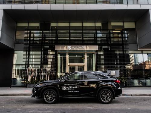 Groupe Germain Hôtels s'associe avec Lexus Canada
