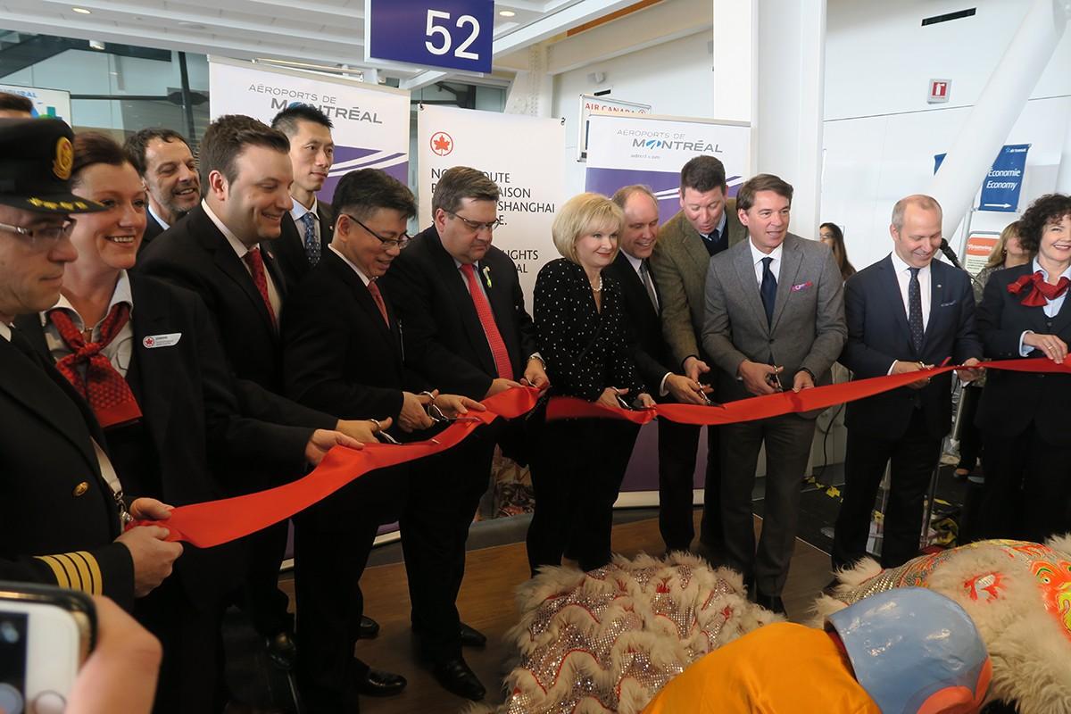 Air Canada inaugure ses premiers vols sans escale Montréal-Shanghai