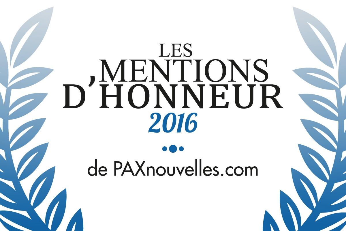 Dernier appel à candidatures pour nos Mentions d'Honneur 2016