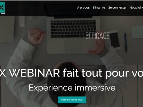 Nouveau: Logimonde Media lance PAXWebinar.com