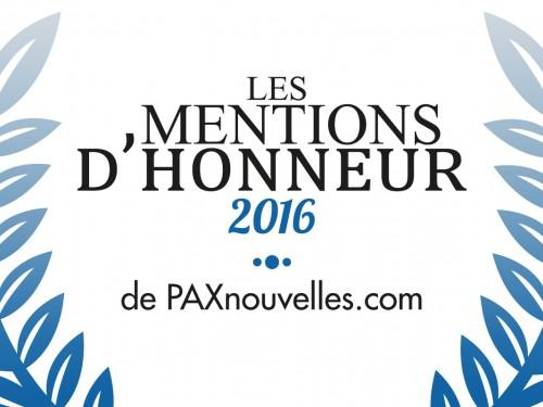 Mentions d'Honneur 2016 : le verdict!