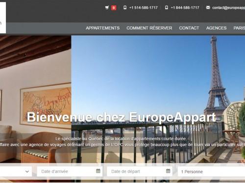 Europeappart.com : des nouveautés pour souligner sa première année au service des agences