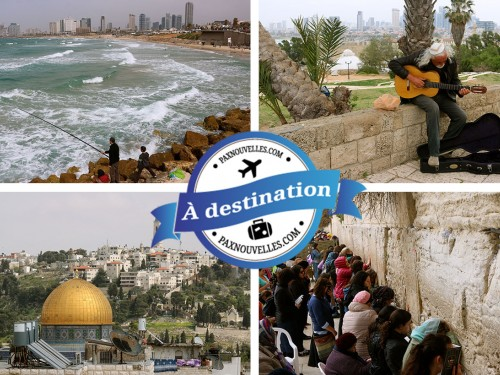 PAX à destination : Israël, de Tel-Aviv à Jérusalem