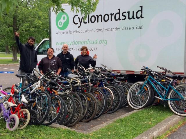 Cyclo Nord Sud repart à la recherche de vélos non utilisés
