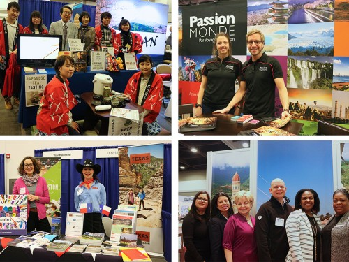 À Ottawa, l'industrie du voyage fait le « show »