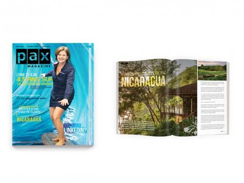 Votre édition d'avril de PAX magazine est maintenant disponible