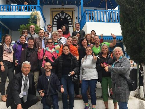 Célébritours fait découvrir la Tunisie à 23 agents de voyages