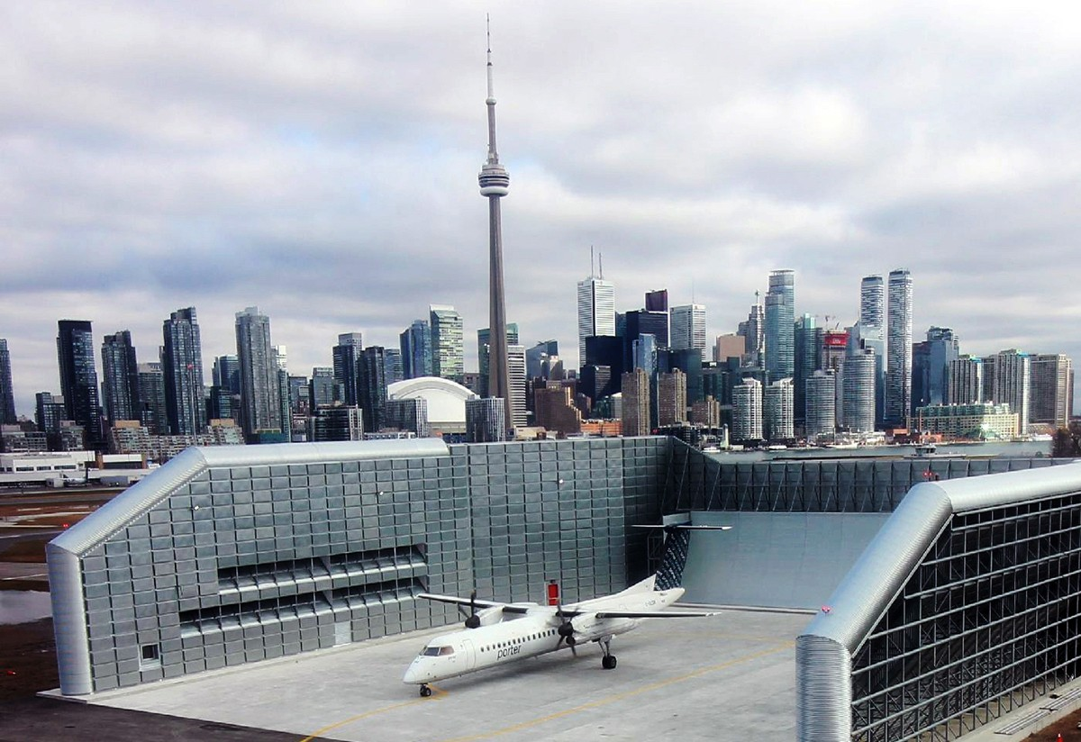 Aéroport Billy Bishop : ouverture officielle de l'enceinte antibruit