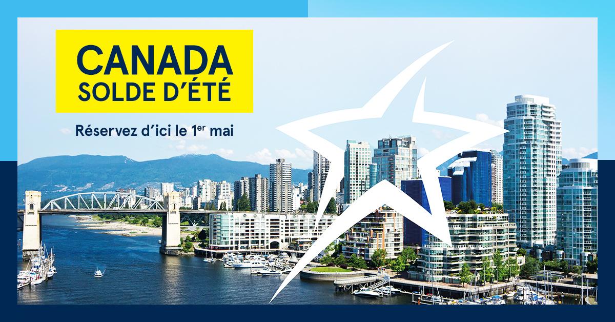 Air Transat: des aubaines sur les vols domestiques pour découvrir le Canada
