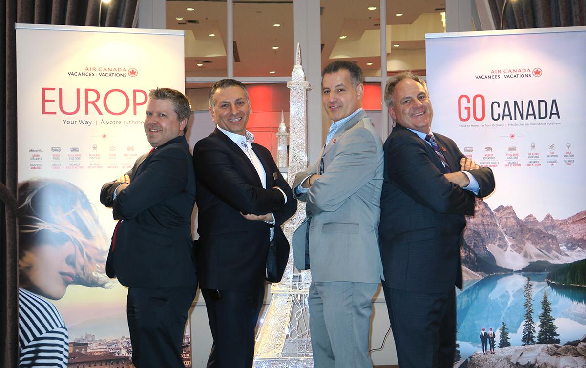 Vacances Air Canada forme les agents sur deux brochures à Laval [Vidéo exclusive]