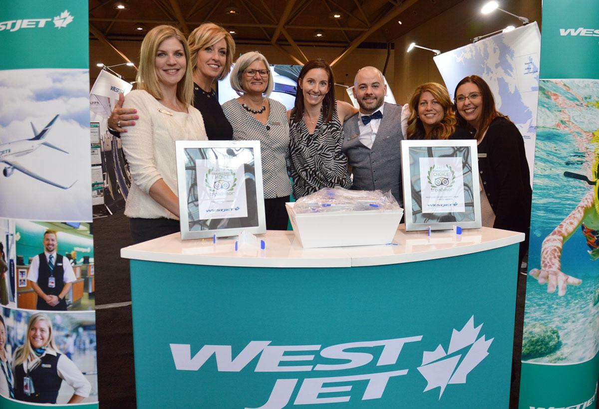 WestJet donne le coup d'envoi de  l'Expo voyage 2017 à Toronto