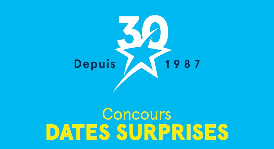 Concours Dates surprises de Transat :  les gagnants du mois de mai