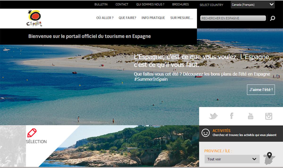 Paxnouvelles gr ve venir l 39 office de tourisme d 39 espagne toronto - Office du tourisme d espagne ...