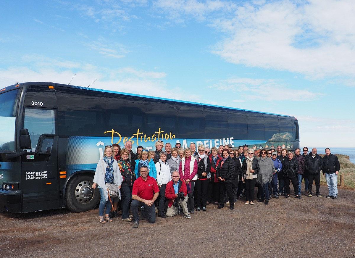Premium Tours emmène 50 agents aux Îles-de-la-Madeleine