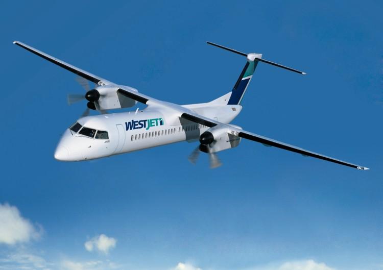 WestJet débute ses vols reliant Québec et Montréal