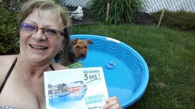 Ne plus partager ma piscine pour les vacances!!!