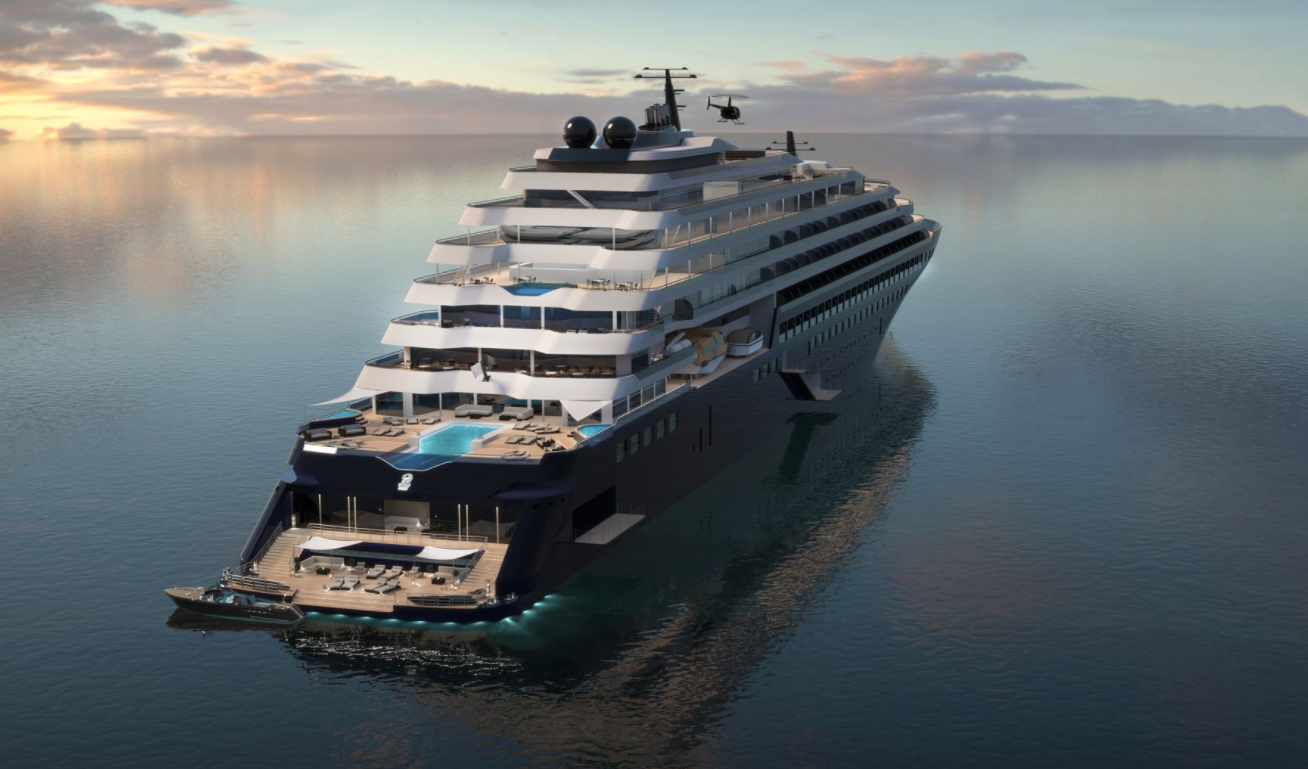 Ritz-Carlton construira trois opulents yachts