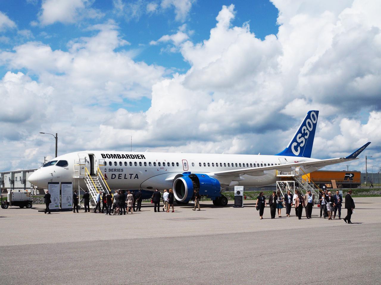 Bombardier et Delta dévoilent leur CS300