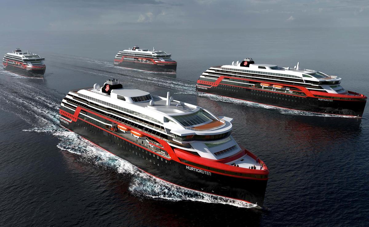 Des croisières Hurtigruten au Canada et aux États-Unis