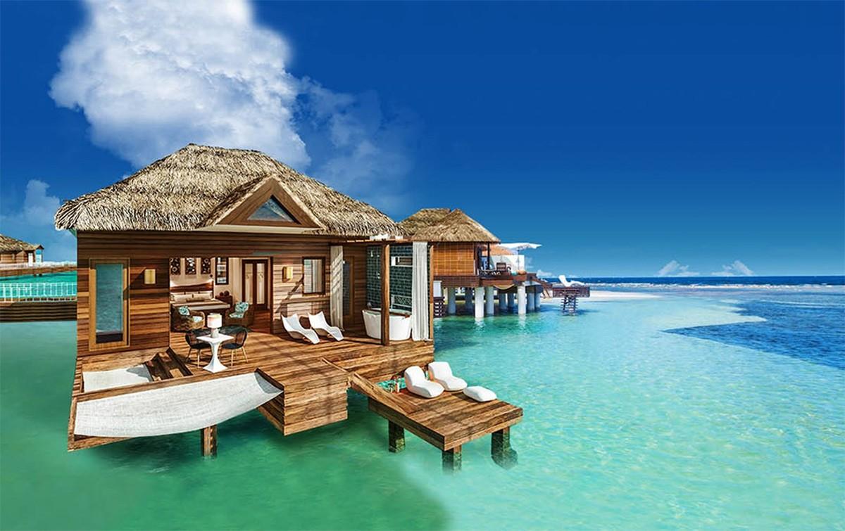 5 hôtels du Sud pour... des bungalows sur l'eau