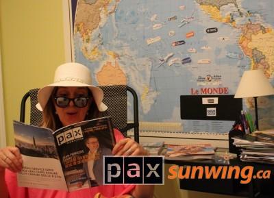 Toujours bien informé avec PAX
