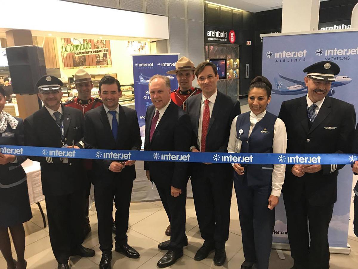 La compagnie mexicaine Interjet se pose à Montréal
