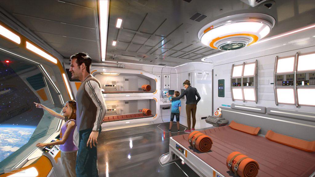 Walt Disney World inaugurera un hôtel et parc Star Wars