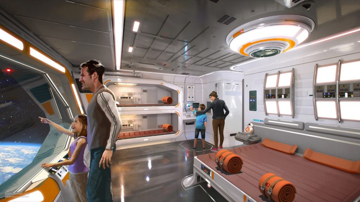 Walt Disney World inaugurera un hôtel et parc Star Wars