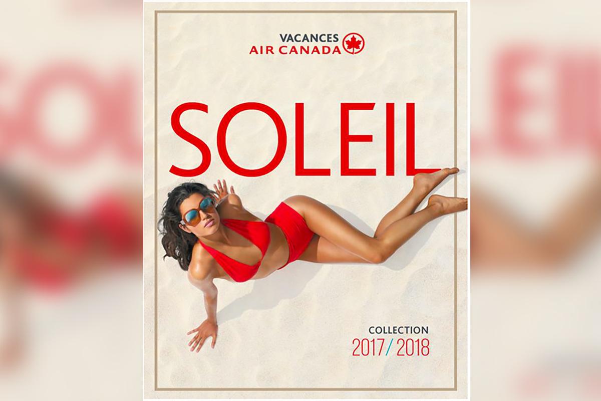 Nouvelle brochure Soleil pour Vacances Air Canada