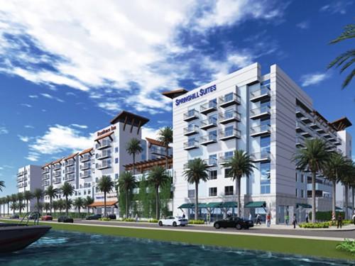 Nouvel hôtel doublement Marriott à Clearwater Beach