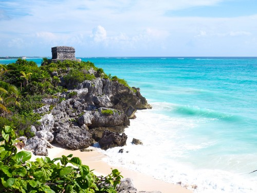 Le  Mexique, 8e pays le plus visité au monde