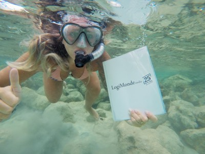 Always diving with your PAX !!!