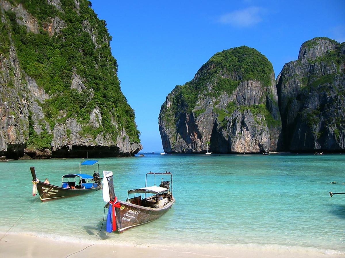 La Thaïlande a fermé 61 îles et parcs nationaux