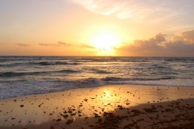 Lever de soleil au Chic Punta Cana - Août 2017