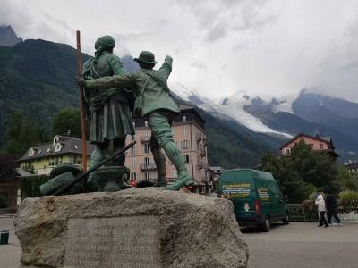 Les Boys 2 et le Mont Blanc