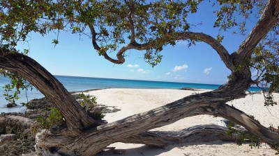 Playa Pesquer la veille du passage d'Irma