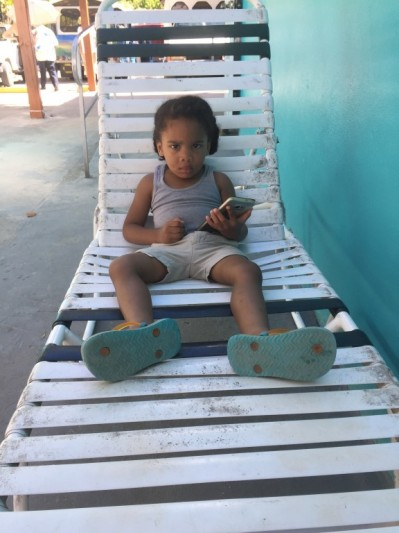 Le petit garçon saint-martinois
