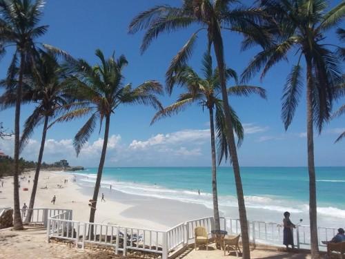 La plage du Meliá Varadero en une image