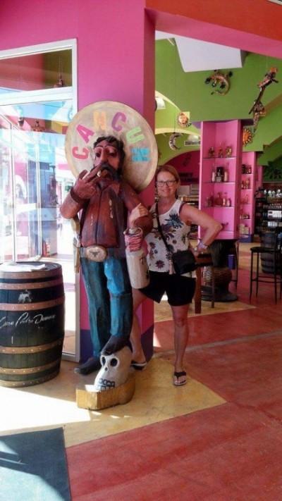 Cancún avec un joyeux Mexicain