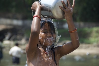 Douche indienne, Kerala Inde