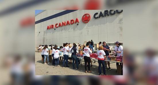 Air Canada fournit une aide humanitaire pour l'envoi de produits essentiels dans les régions touchées par l'ouragan Irma