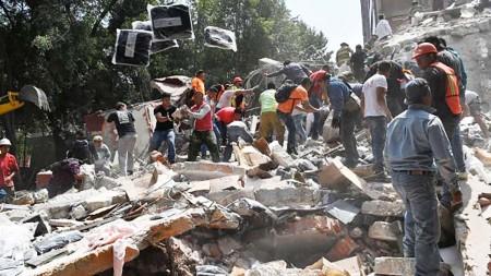 Un séisme majeur frappe le centre du Mexique : le bilan monte à 200 morts