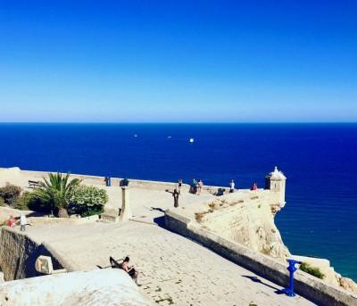 Dans les hauteurs d'Alicante (Espagne)