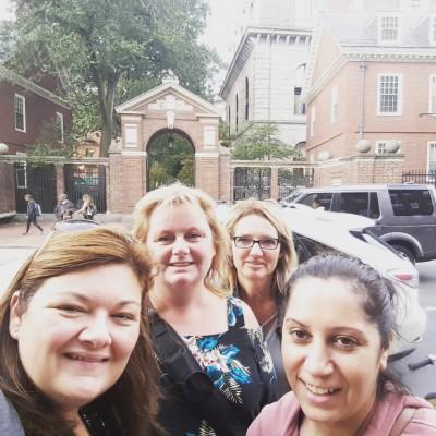 Road trip de filles à Harvard - Boston Mass.