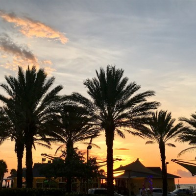 Coucher de Soleil sur Clearwater