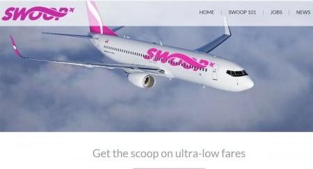 WestJet dévoile Swoop, son transporteur à très bas tarifs