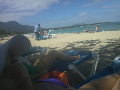 La playa!!