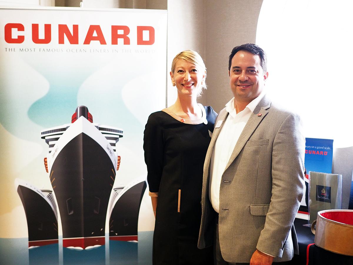 Opération de charme pour Cunard Line à Montréal