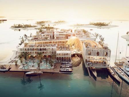 Dubaï construira une réplique flottante de Venise