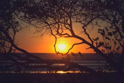 Magnifique coucher de soleil = Bonheur